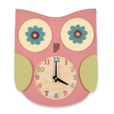 owl clock (2 colors)