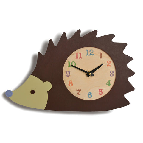 hedgehog clock - Tree by Kerri Lee