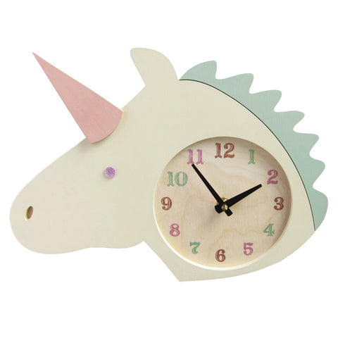unicorn clock - Tree by Kerri Lee