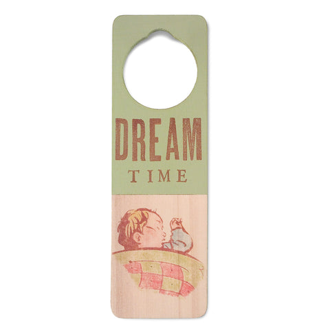 dream time door sign (2 colors)
