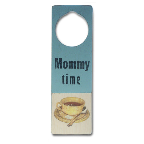 mommy time door sign - Tree by Kerri Lee