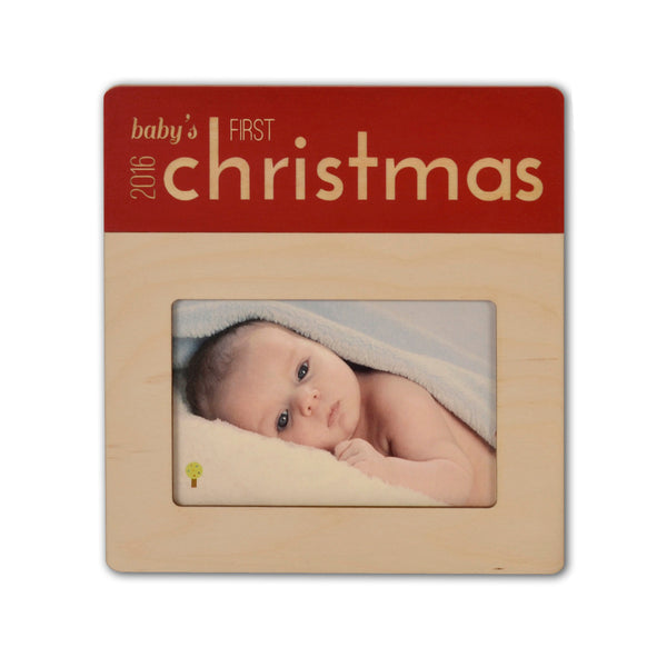 first christmas picture frame