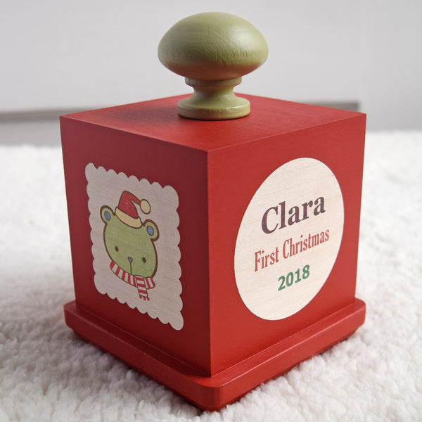 first christmas music box