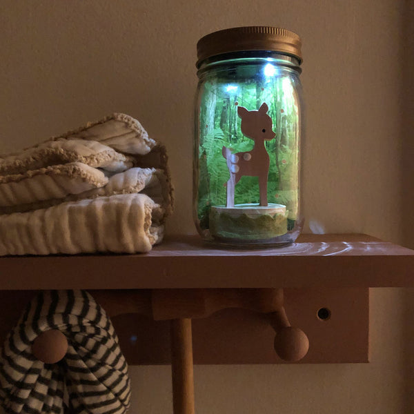 fawn mason jar solar light - Tree by Kerri Lee