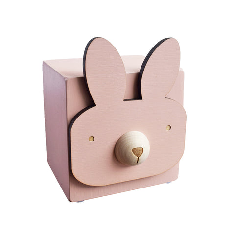 menagerie music box - bunny