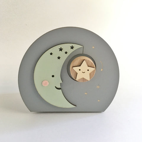 moon music box - Tree by Kerri Lee