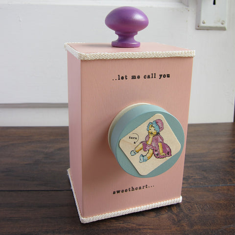 'let me call you sweetheart' wind-up music box