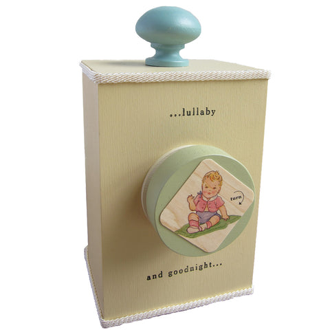 'brahms' lullaby' wind-up music box