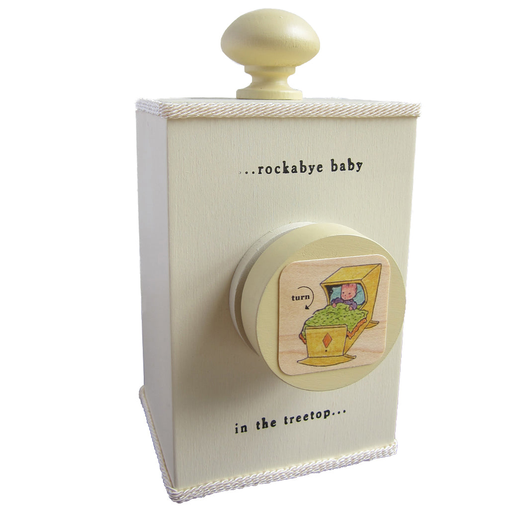 'rockabye baby' wind-up music box (3 styles) - Tree by Kerri Lee