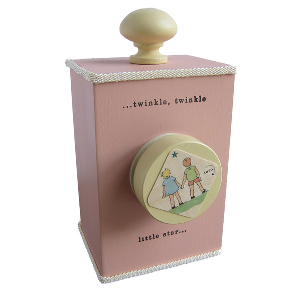 'twinkle twinkle' wind-up music box (3 colors)