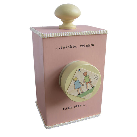 'twinkle twinkle' wind-up music box (3 colors) - Tree by Kerri Lee