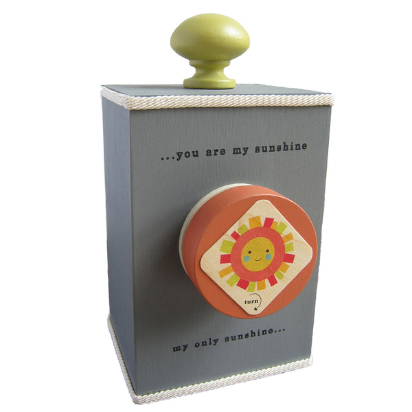 'you are my sunshine' wind-up music box (3 styles)