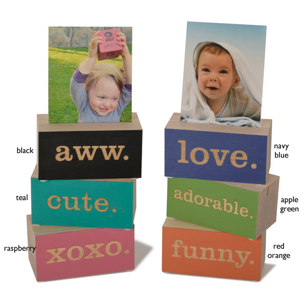 photo holder blocks - Tree by Kerri Lee