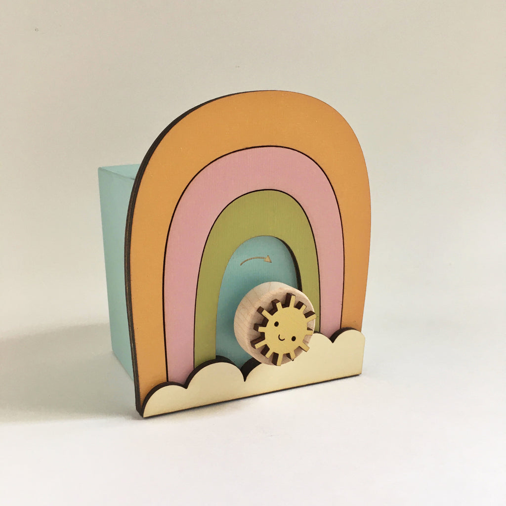 rainbow music box - Tree by Kerri Lee