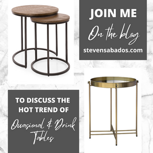 Occasional and Drink Table Trend