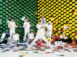 Amazing Video by  Rock Band OK GO