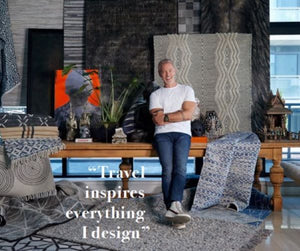 Steven shares the inspiration behind his new rug collection