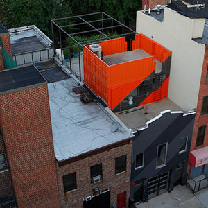 Re-purposing Discarded Shipping Containers