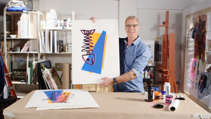 In the Studio with Steven Sabados: DIY Warhol-Inspired Silk Screen