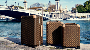 Check-in with the Marc Newson-designed horizon luggage collection for Louis Vuitton