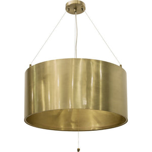 Ballista Brass Chandelier