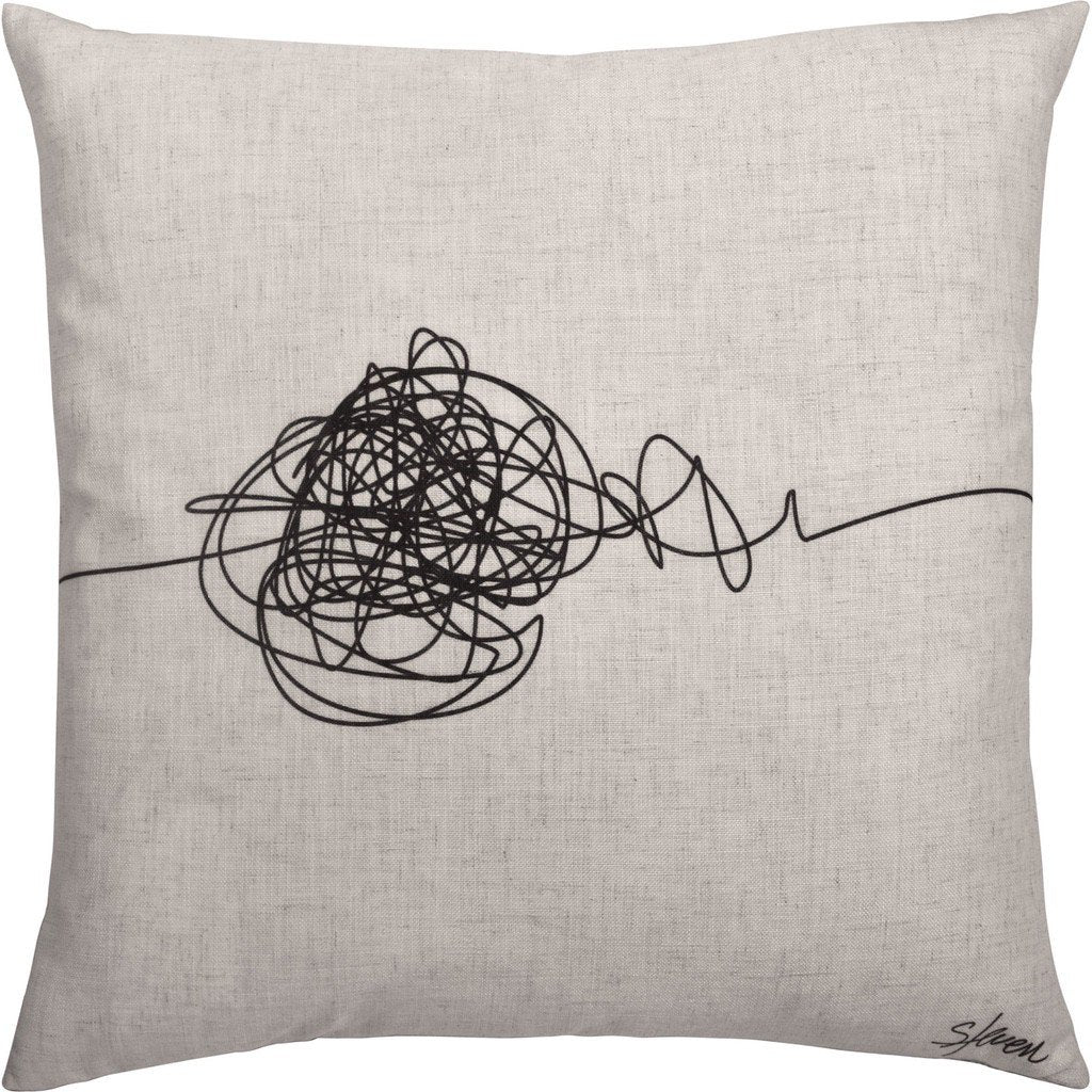 Knot Toss Cushion