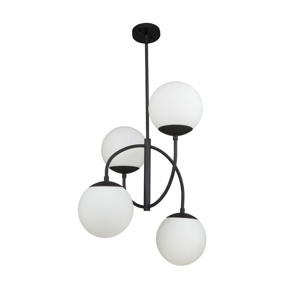 Moonglow 4 Light Chandelier