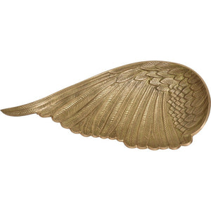 Charisma Brass Wing Sculpture