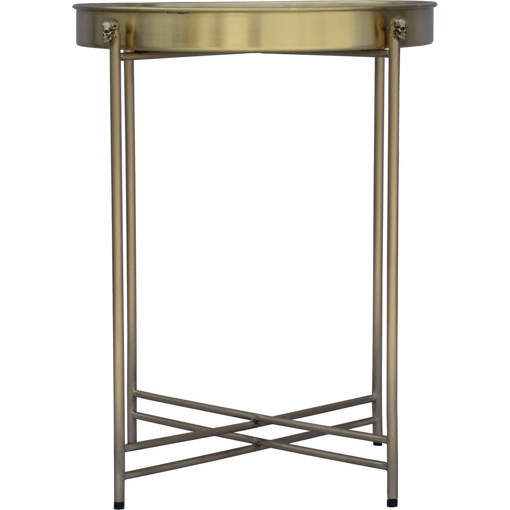 Paladin Brass Accent Table