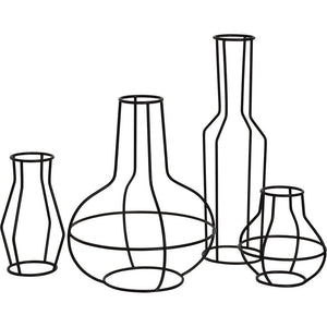 Set of 4 Vase Sculptures