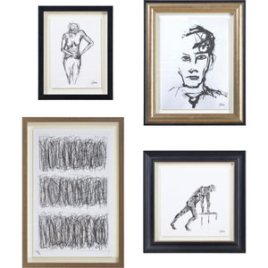 Set of 4 Sketches