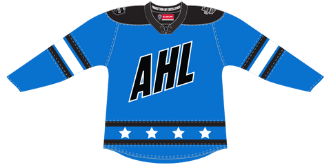 CCM Quicklite 2020 AHL All-Star North Division Authentic Blue Jersey