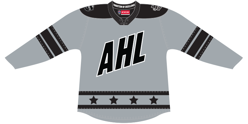 CCM Quicklite 2020 AHL All-Star Atlantic Division Authentic Gray Jersey