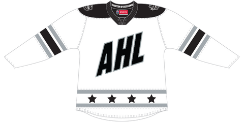 CCM Quicklite 2020 AHL All-Star Central Division Authentic White Jersey