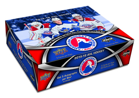 2015-16 Upper Deck AHL Hockey Hobby Box