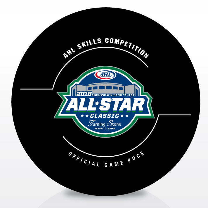 2018 AHL All-Star Skills Competition Game Puck