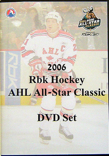 2006 Rbk Hockey AHL All-Star Classic DVD Set