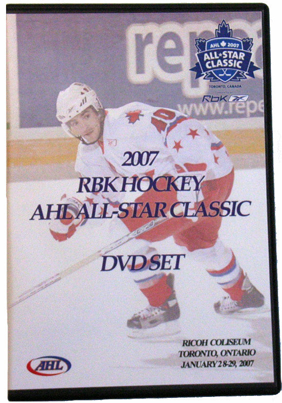 2007 RBK Hockey AHL All-Star Classic Commemorative DVD Set