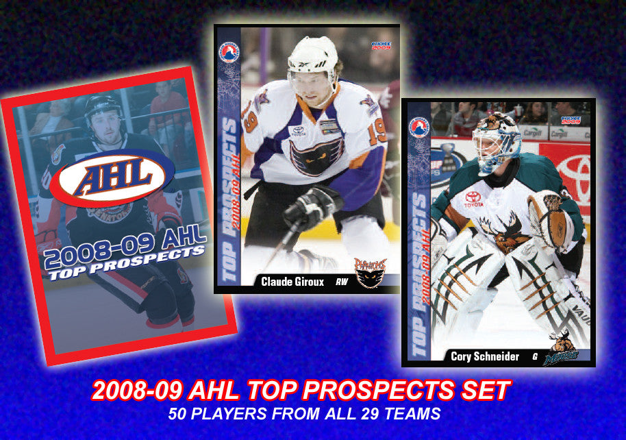 2008-09 AHL Top Prospects Trading Card Set