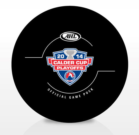 2014 Calder Cup Playoffs Official Game Puck