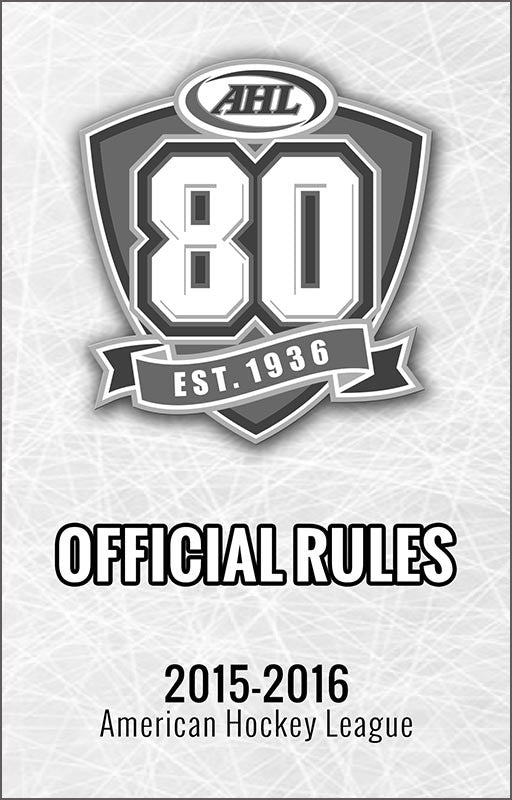 2015-16 AHL Offical Rulebook