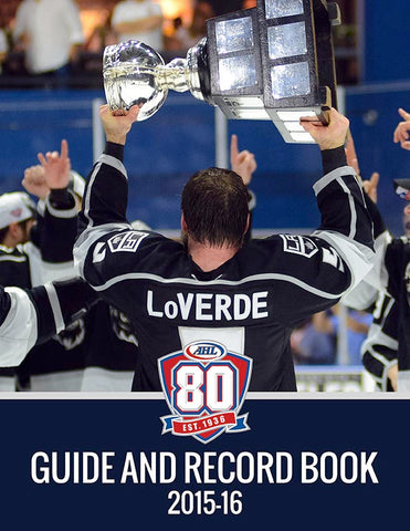 2015-16 AHL Media Guide and Record Book (CD)