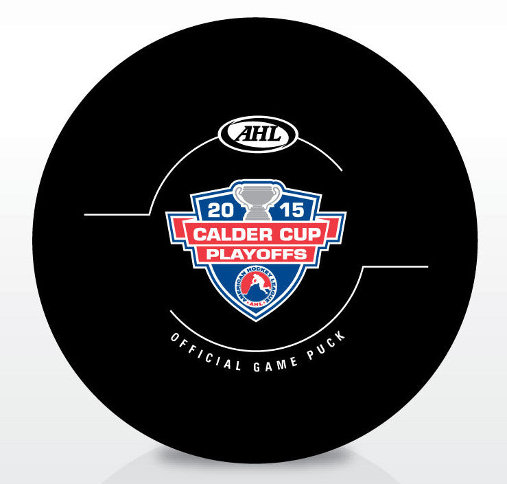 2015 Calder Cup Playoffs Official Game Puck