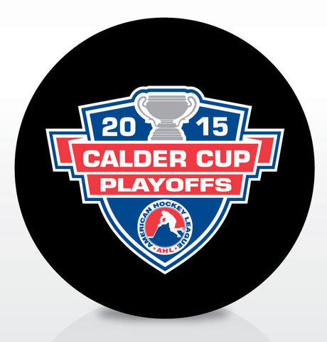 2015 Calder Cup Playoffs Official Souvenir Puck