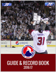 2016-17 AHL Media Guide and Record Book (CD)