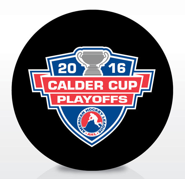 2016 Calder Cup Playoffs Official Souvenir Puck