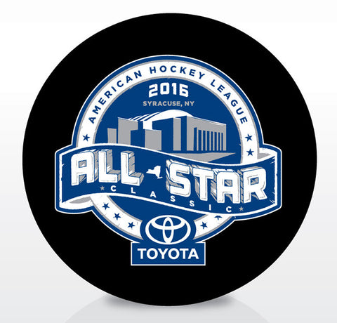 2016 AHL All-Star Classic Official Souvenir Puck