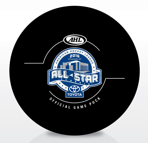 2016 AHL All-Star Classic Official Game Puck