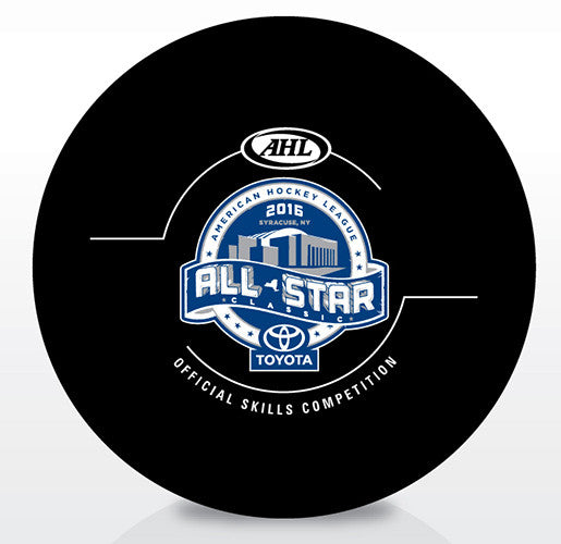 2016 AHL All-Star Classic Official Skills Competition Puck
