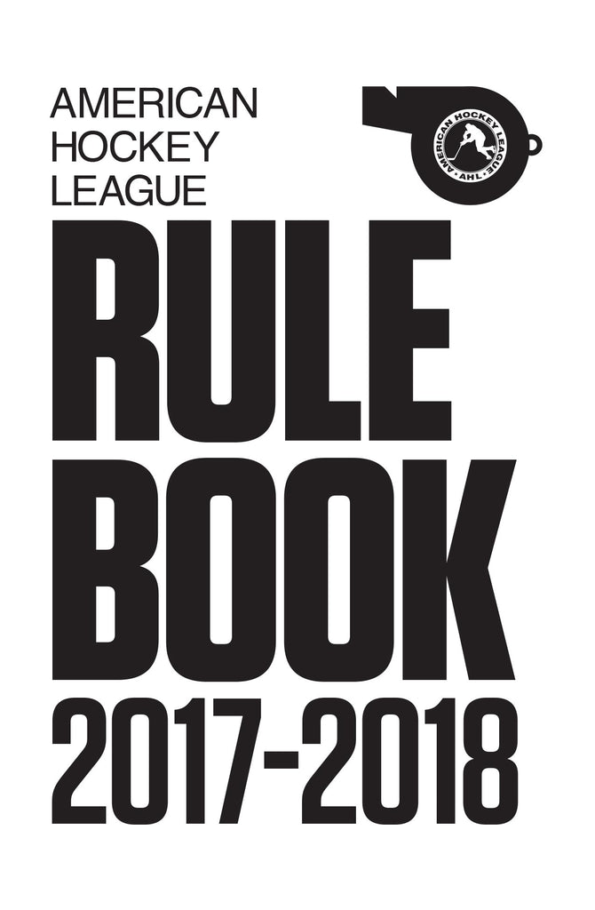 2017-18 AHL Offical Rulebook